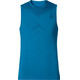Odlo Evolution Light Singlet Crew Neck Men blue jewel-turkish tile